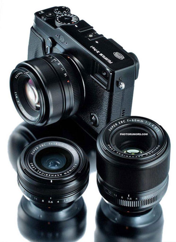 Fuji-X-Pro1-camera-leneses