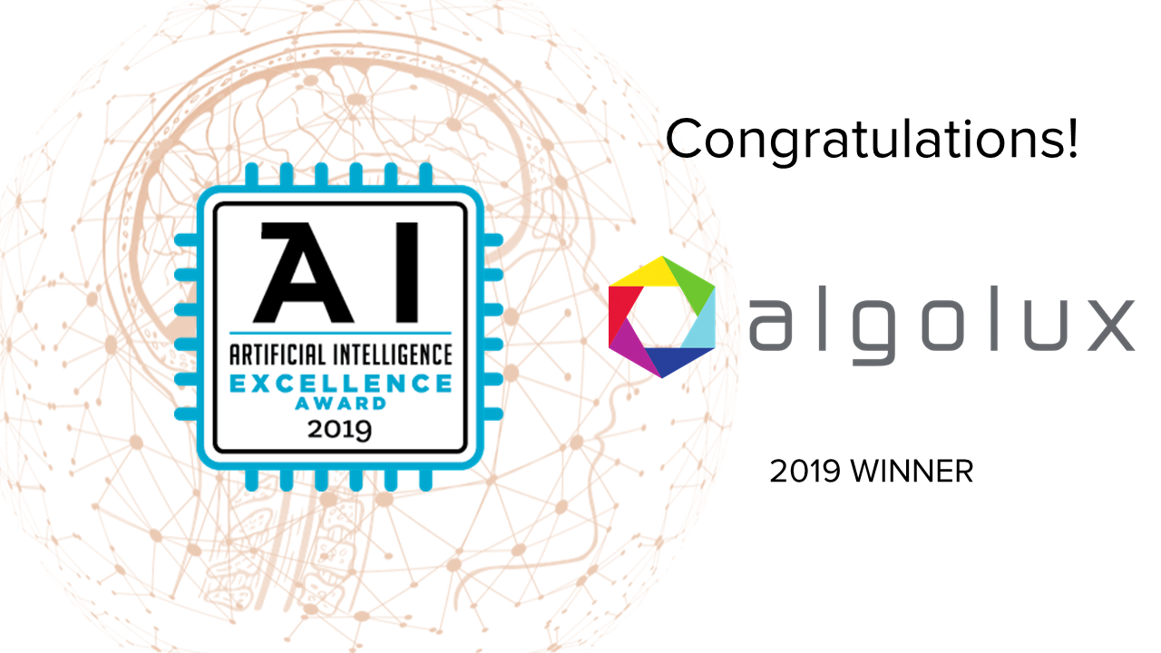 AI Excellence Award graphic