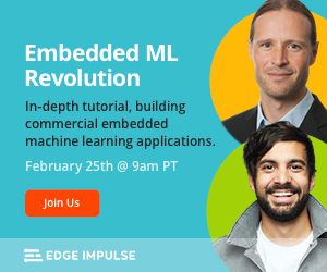 Free Webinar from Edge Impulse