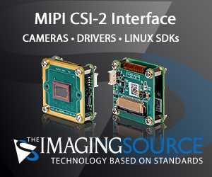 The Imaging Source cameras with MIPI CSI-2 interface